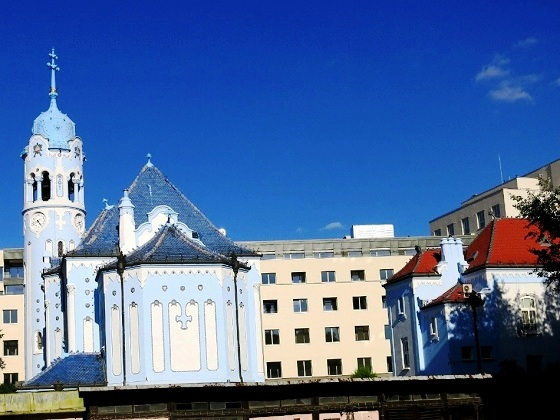 Bratislava-The Blue Church