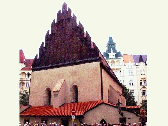 Prague-Old New Synagogue