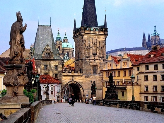 Prague-Charles Bridge-Lesser Town