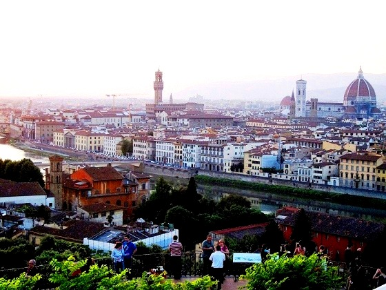 Firenze-view from Piazzale Michelangelo