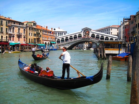 Venice-Grand Canal/Realto bridge