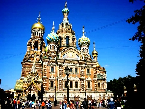 St. Petersburg-Church on Spilled Blood