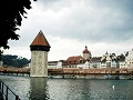 Lucerne-Chapel Bridge and Water Tower