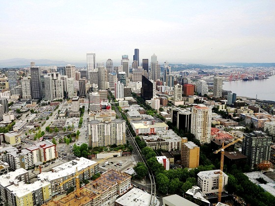 Seattle-View from Space Needle