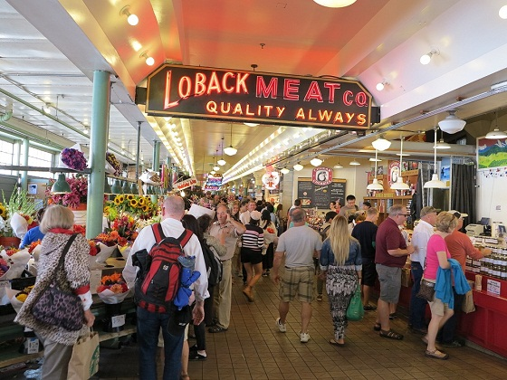 Seattle-Pike Place Market