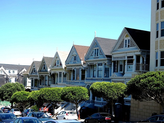 San Francisco-Painted Ladies, Victorian houses